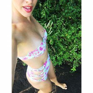 Tori Praver swimsuit